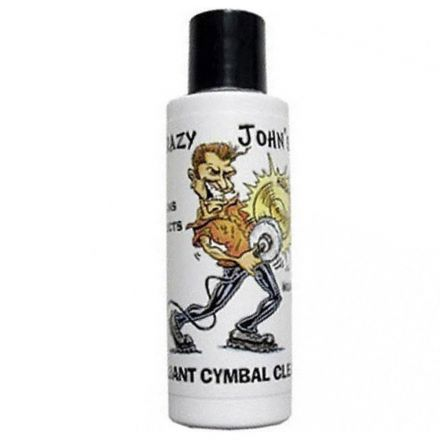 Crazy Johns Brilliant Cymbal Cleaner 4 Oz