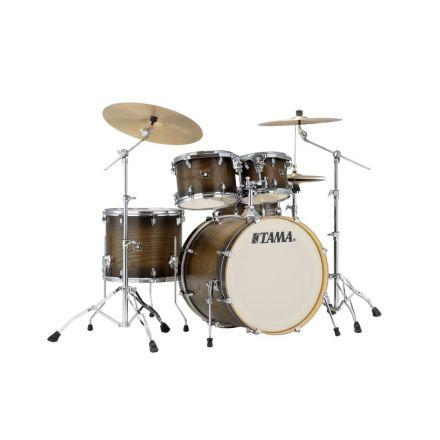 Tama Superstar Classic 5-piece Shell Pack With 22 Bass Drum - Matte Charcoal Elm Burst