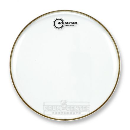 Aquarian Snare/Tom Heads : Classic Clear Drumhead 12