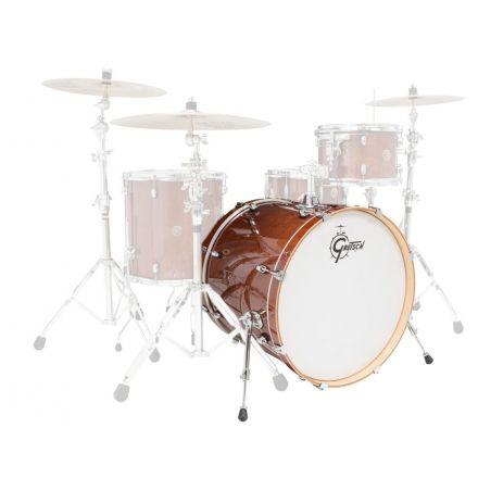 Gretsch Catalina Maple 22x18 Bass Drum Walnut Glaze