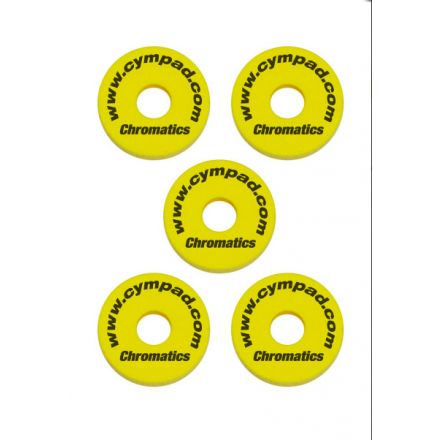 Cympad Chromatics Set 40/15mm Yellow (5pcs)
