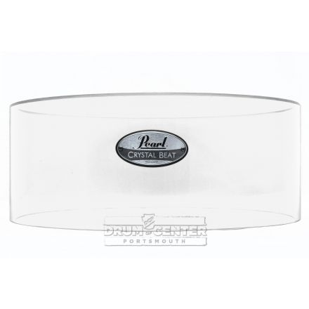 Pearl Crystal Beat Acrylic Free Floating Shell 14x6.5 Ultra Clear