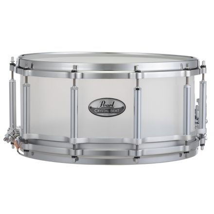 Pearl Crystal Beat 14x5 Free Floating Snare Drum