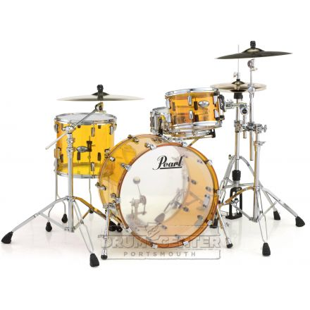 Pearl Crystal Beat Acrylic Drum Set 24/13/16 Tangerine Glass