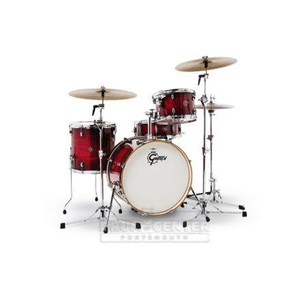 Gretsch Catalina Club 4 Piece Drum Set With 20 Bass Drum - Gloss Crimson Burst