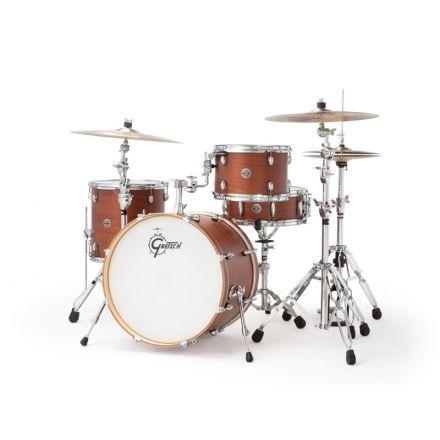 Gretsch Catalina Club 4pc Jazz Drum Set Satin Walnut Glaze