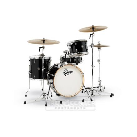 Gretsch Catalina Club 3 Piece Drum Set With 18 Bass Drum - Piano Black