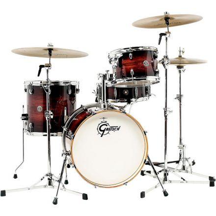 Gretsch Catalina Club 4pc Drum Set w/18bd - Gloss Antique Burst - Blowout!