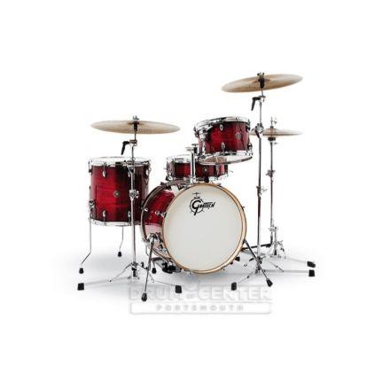 Gretsch Catalina Club 4 Piece Drum Set With 18 Bass Drum - Gloss Crimson Burst