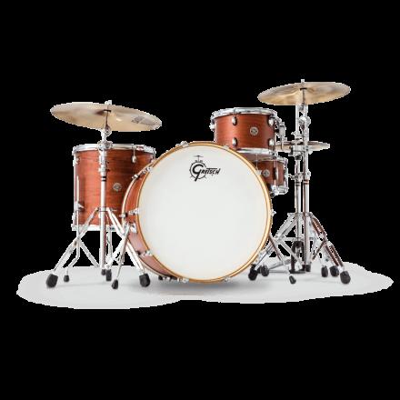 Gretsch Catalina Club 3 Piece Drum Set With 24 BD - Satin Walnut Glaze