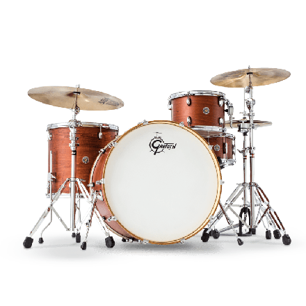 Gretsch Catalina Club Rock 4 Piece Drum Set - Satin Walnut Glaze