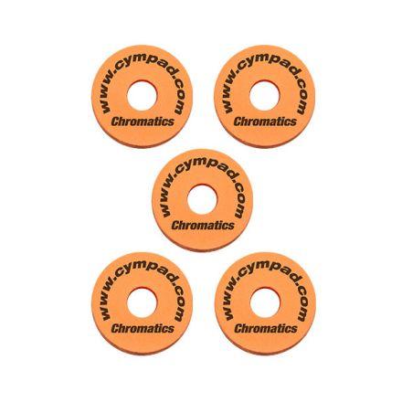 Cympad Chromatics Set 40/15mm Orange (5pcs)