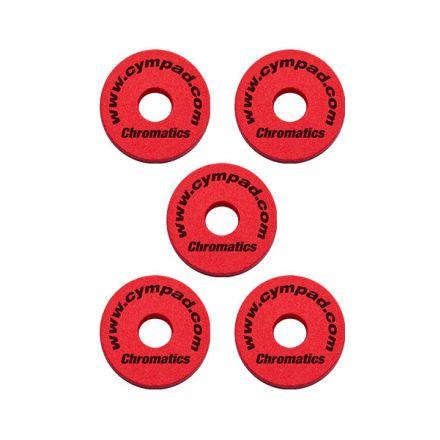 Cympad Chromatics Set 40/15mm Red (5pcs)