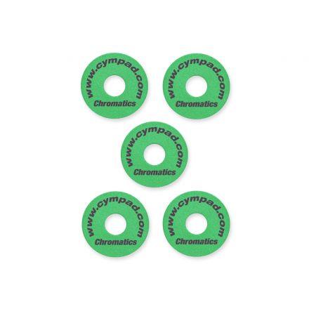 Cympad Chromatics Set 40/15mm Green (5pcs)