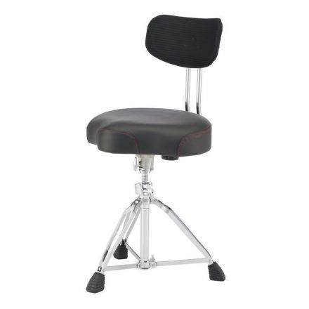 Pearl Roadster D3500BR Multi-Core Saddle Drum Throne w/Backrest