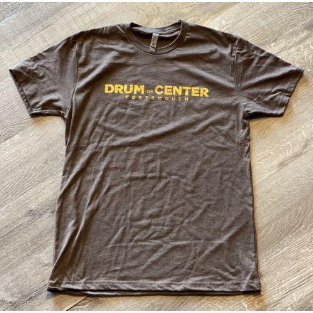 DCP Apparel : T-Shirt, Brown w/Gold Logo, X-Large