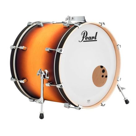 Pearl Decade Maple 18x14 Bass Drum with mount - Classic Satin Amburst