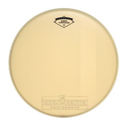 Aquarian Deep Vintage II Bass Drumhead 24