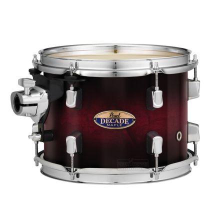 """Pearl Decade Maple 22""""x18"""" Bass Drum - Gloss Deep Redburst"""