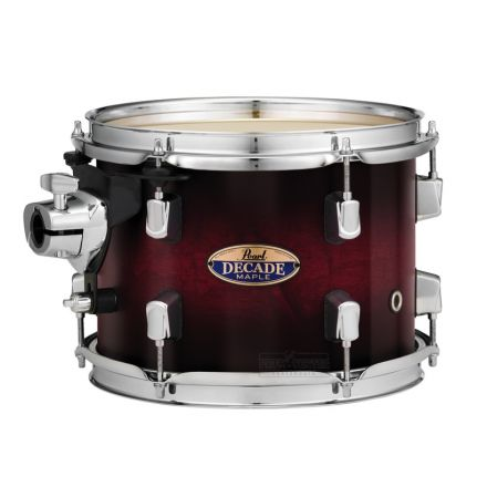 "Pearl Decade Maple 16""x16"" Floor Tom - Gloss Deep Redburst"