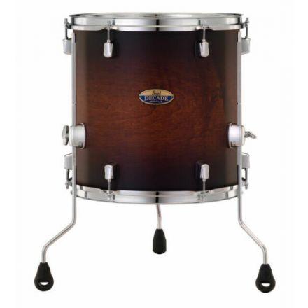 "Pearl Decade Maple 14""x14"" Floor Tom - Classic Satin Brown Burst"