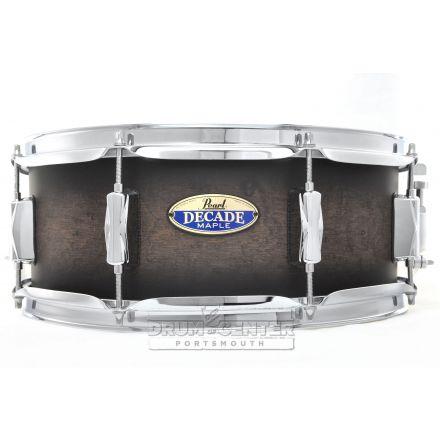Pearl Decade Maple Snare Drum 14x5.5 Satin Black Burst