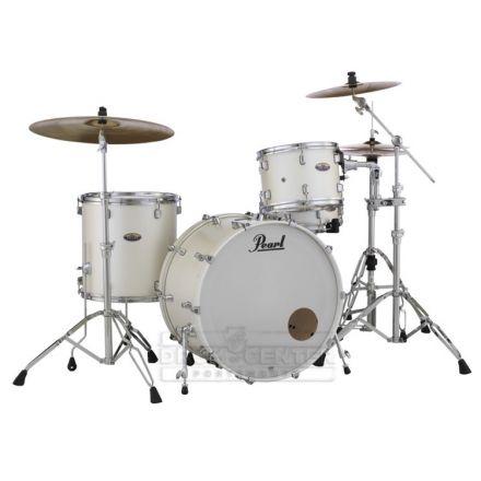 Pearl Decade Maple 3pc Drum Set White Satin Pearl