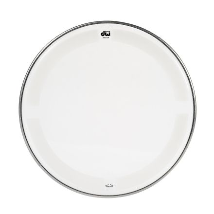 DW Drum Heads : 08 Inch Coated Clear Drum Head