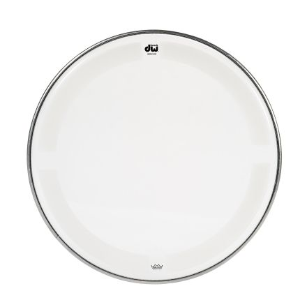 DW Drum Heads : 14 Inch Coated Clear Drum Head