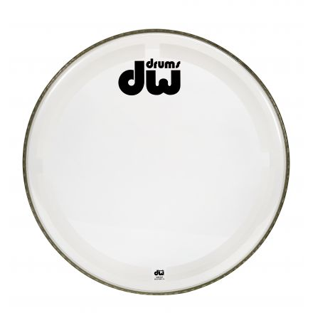 DW Drum Heads : 18 Inch Coated Clear Bass Drum Head
