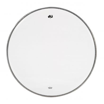 DW Drum Heads : 14 Inch Clear Drum Head