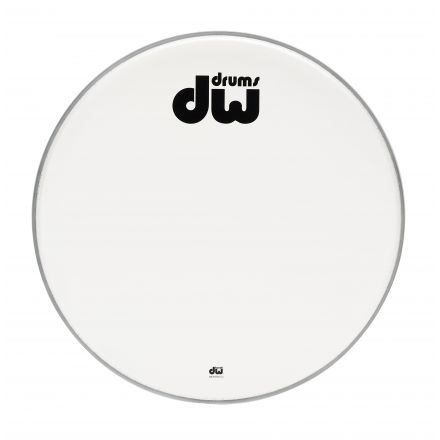 DW Drum Heads : 20In Texture Coated Bass Drum Logo Head