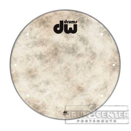 DW Bass Drum Heads: 24 Inch Fiberskyn Bass Drum Head