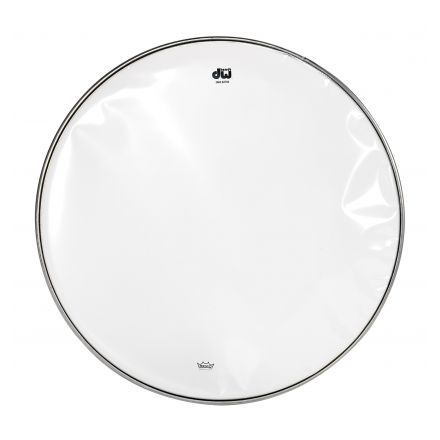 DW Drum Heads : 14 Inch Clear Snare Bottom Head