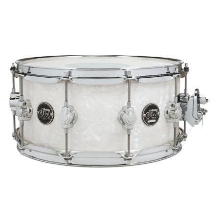 DW Performance Series Finishply Snare Drum - 14x6.5 - White Marine