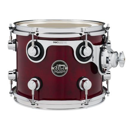 DW Performance Series Lacquer Rack Tom - 10x8 - Cherry Stain