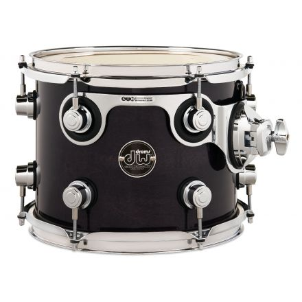 DW Performance Series Lacquer Rack Tom Ebony Stain - 10x8