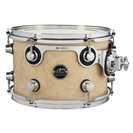 DW Performance Series Lacquer Rack Tom - 12x8 - Natural Lacquer