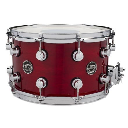 DW Performance Series Lacquer Snare Drum - 14x8 - Cherry Stain