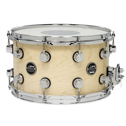DW Performance Series Lacquer Snare Drum - 14x8 - Natural Lacquer