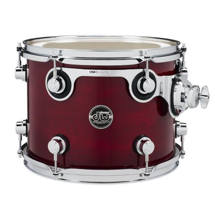 DW Performance Series Lacquer Rack Tom - 12x9 - Cherry Stain