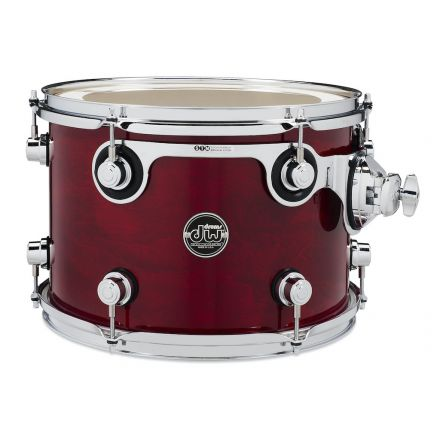 DW Performance Series Lacquer Rack Tom - 13x9 - Cherry Stain