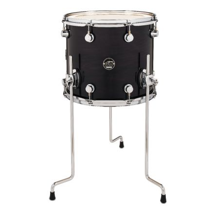 DW Performance Series Lacquer Floor Tom Ebony Stain - 14x12