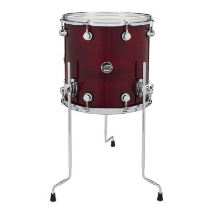 DW Performance Series Lacquer Floor Tom - 14x14 - Cherry Stain