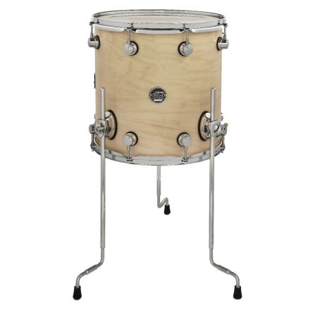 DW Performance Series Lacquer Floor Tom - 14x14 - Natural Lacquer