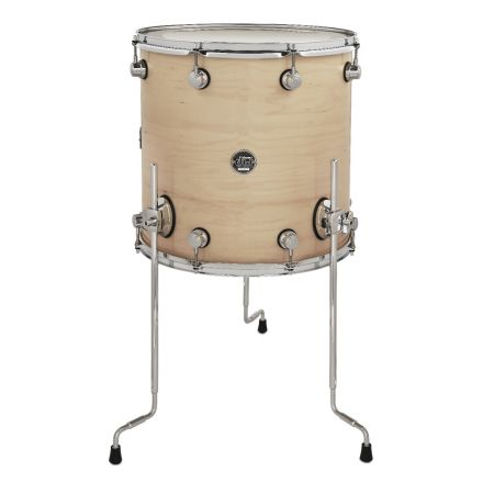DW Performance Series Lacquer Floor Tom - 16x16 - Natural Lacquer