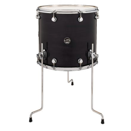 DW Performance Series Lacquer Floor Tom 18x16 Ebony Stain