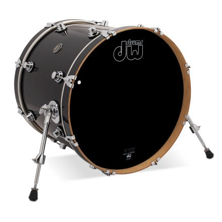DW Performance Series Lacquer Bass Drum 20x16 Ebony Stain