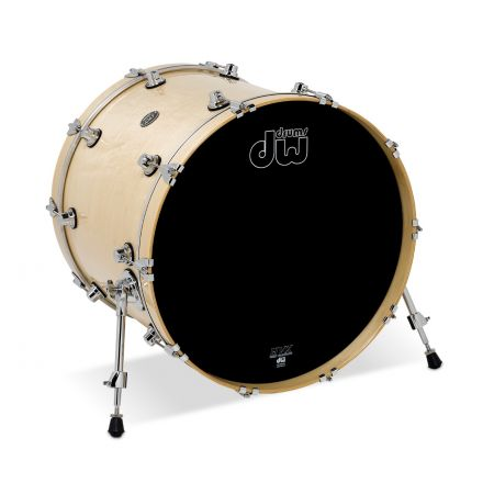 DW Performance Series Lacquer Bass Drum - 22x18 - Natural Lacquer