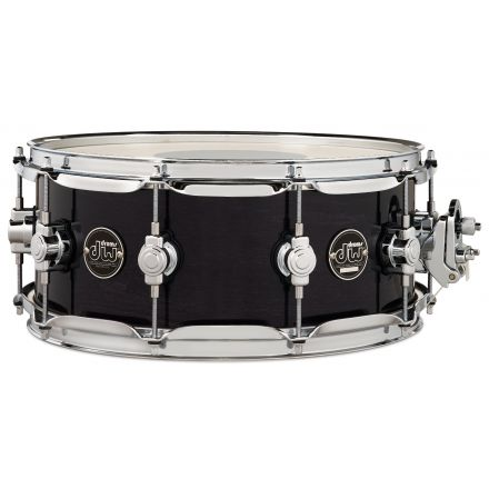 DW Performance Series Lacquer Snare Drum 14x5.5 - Ebony Stain